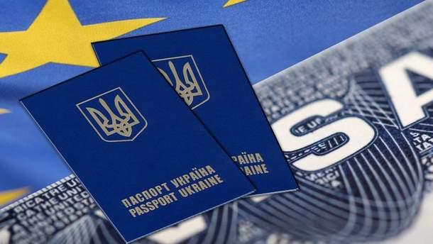 С безвизом украинцы не стали чаще ездить в Европу