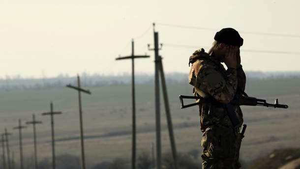 На Донбасі поранено 5 українських військових