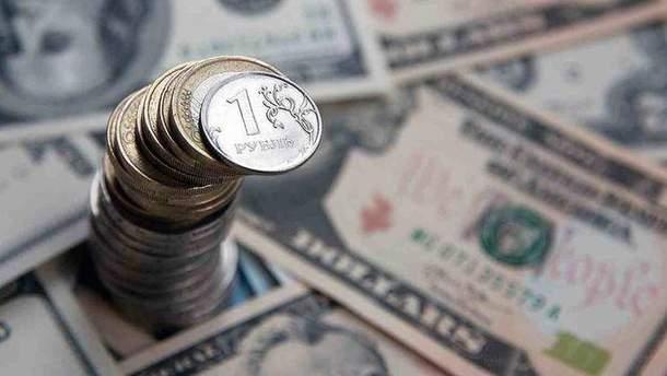 Рубль очікує падіння