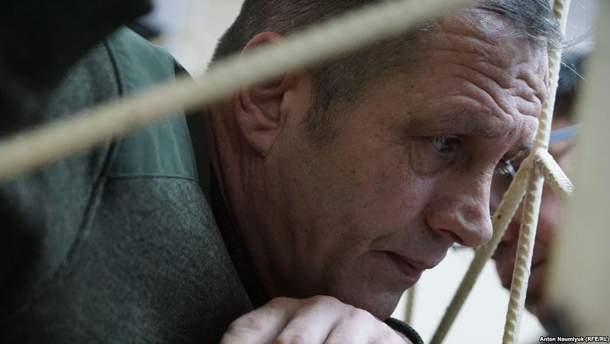 Украинец Владимир Балух не прекратил голодовку