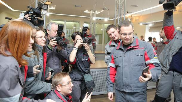 """Модернізацію газоочисних систем на """"Запоріжсталь"""" завершено"""