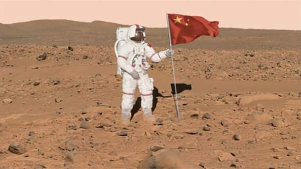 Китай планирует покорить Луну и Марс