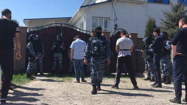 Обыски в Крыму
