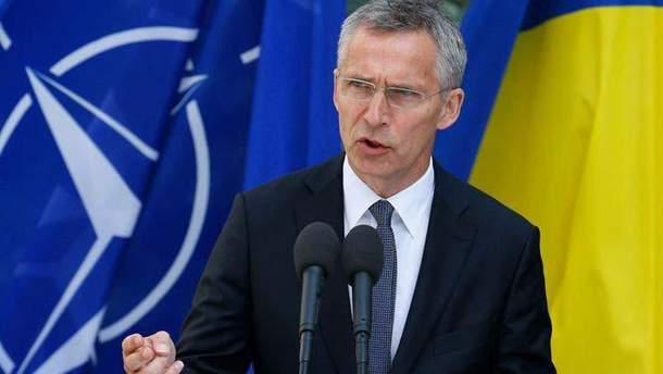 Столтенберг призвал Украину и Венгрию решить спор о языковом законе