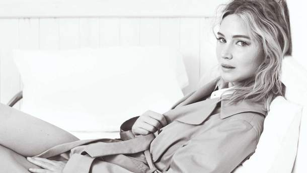 Дженнифер Лоуренс для Dior Magazine