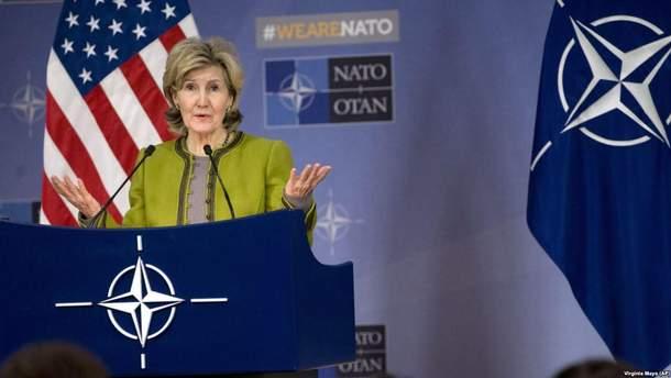 США выразили позицию, относительно стремления Украины в НАТО