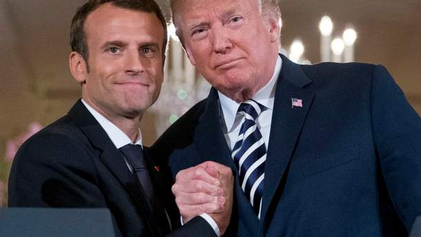 """Макрон став новим """"європейським улюбленцем"""" для Трампа"""