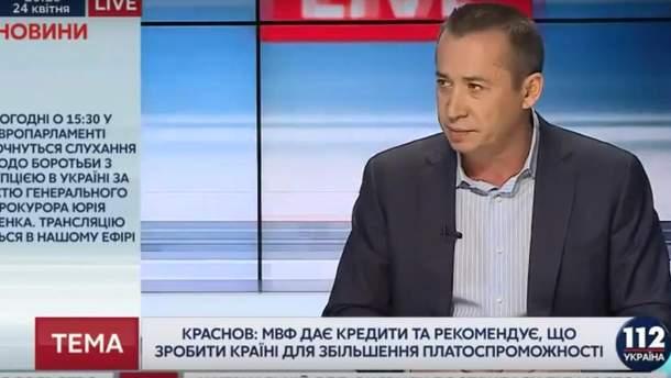 Загид Краснов в эфире телеканала