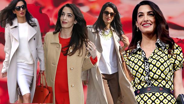 Как одеваться на работу в стиле Амаль Клуни: 10 весенних идей