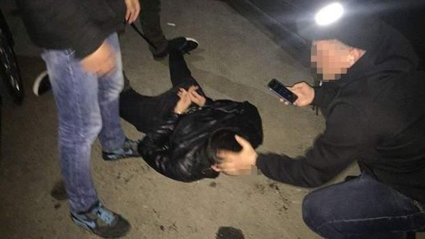 Задержали полицейских-вымогателей