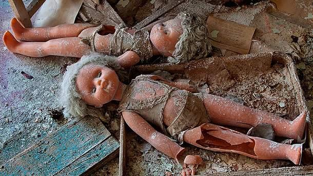 Куклы, которые остались в Припяти