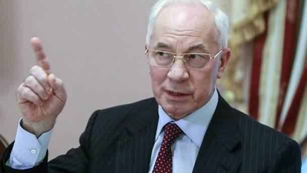Микола Азаров планує повернутися в Україну