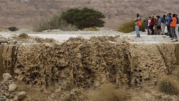 Наводнение в Израиле