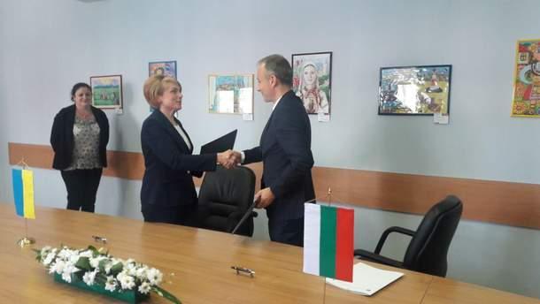 Встреча министров образования Украины и Болгарии