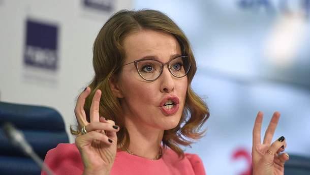 Ксения Собчак не собирается в Крым