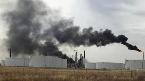 У США вибухнув нафтопереробний завод: 20 постраждалих