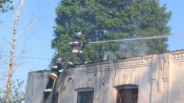 УХмельницькій обл. сталася масштабна пожежа вбудівлі школи