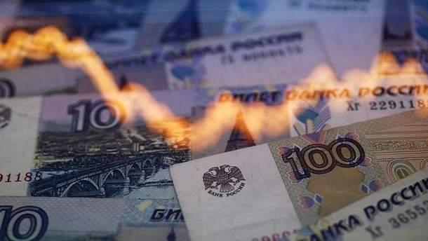 Из-за конфликта с Украиной Россия потеряла около 50 миллиардов рублей