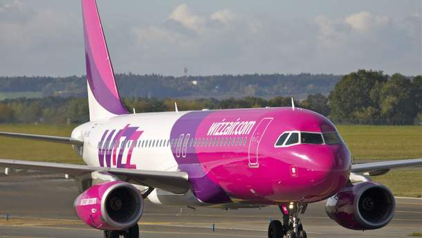 Wizz Air открывает три новых маршрута из Киева