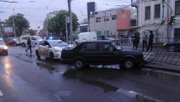 Смертельная авария в центре Львова