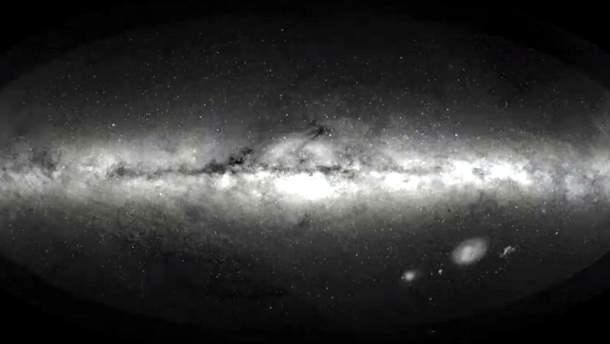 Очень подробная карта Млечного Пути