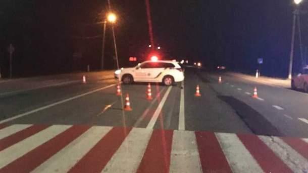 Нетрезвый водитель сбил полицейского на Львовщине