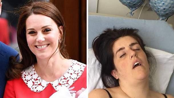 Кейт Миддлтон после родов вызвала волну мемов