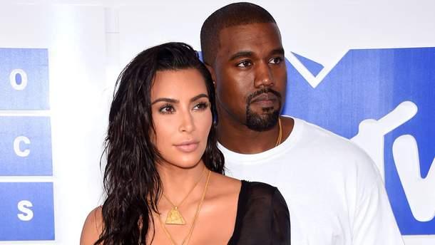 Ким Кардашян защитила мужа от СМИ
