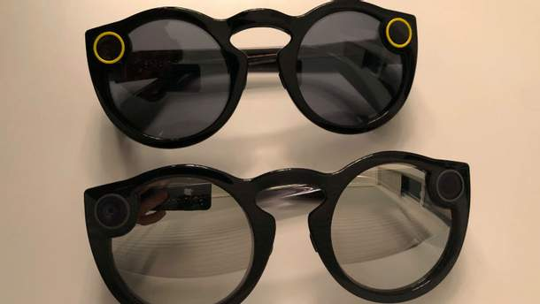 Нові окуляри Spectacles V2