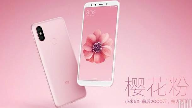 За інформацією інсайдерів, Xiaomi Redmi S2 отримає схожий дизайн з  Mi 6X