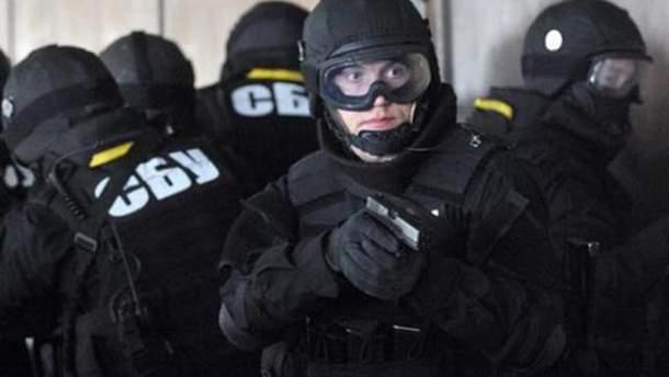 Обыски в Подольском райсуде Киева