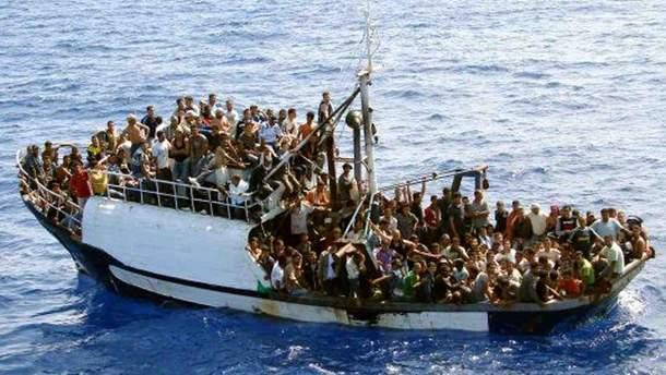 """""""Приплив"""" мігрантів у Європу морем: кількість у 10 разів менша, ніж два роки тому"""