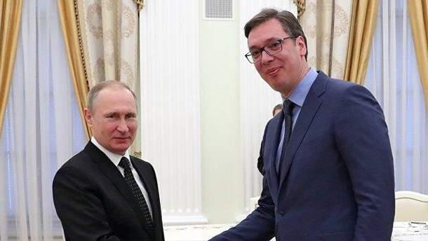 Президента Сербії не запросили на інавгурацію Путіна