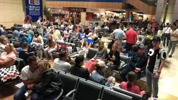 Львовские туристы застряли в аэропорту Египта