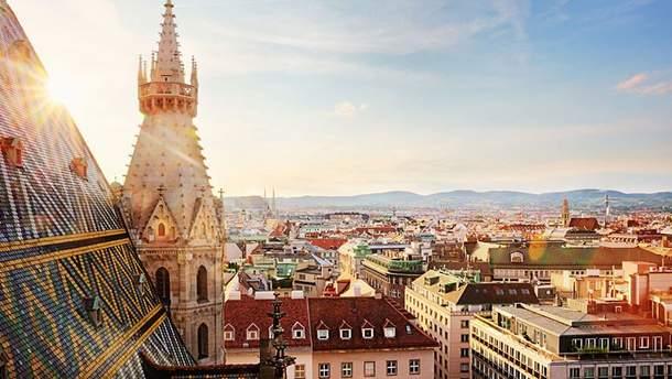 ТОП- 5 дивовижних місць в Австрії: фото