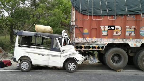 Кривава ДТП в Індії: загинуло 9 людей