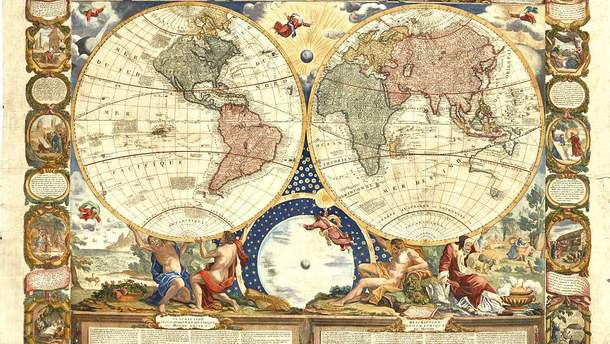 Карты первых исследователей-путешественников продадут на аукционе