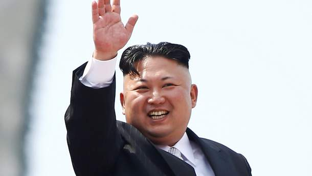 Ким Чен Ына изобразили в карикатуре