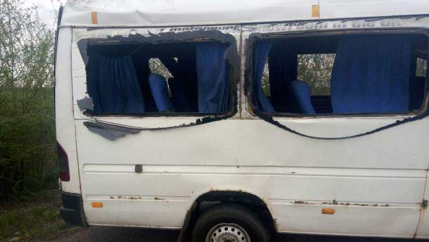 Авария маршрутки в Днепропетровской области