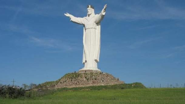 "Cтатуя ""Христа Царя"" в Свебодзине"