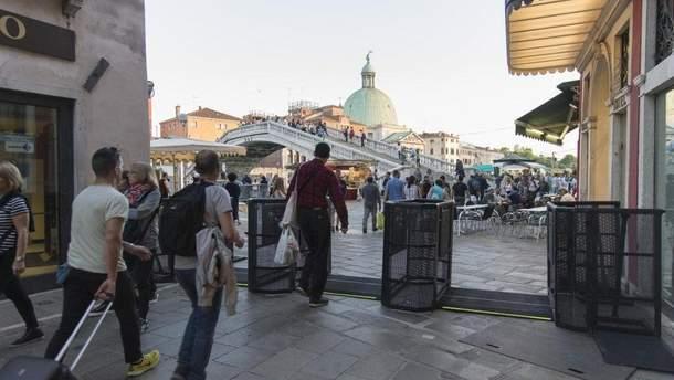 Турнікети у Венеції