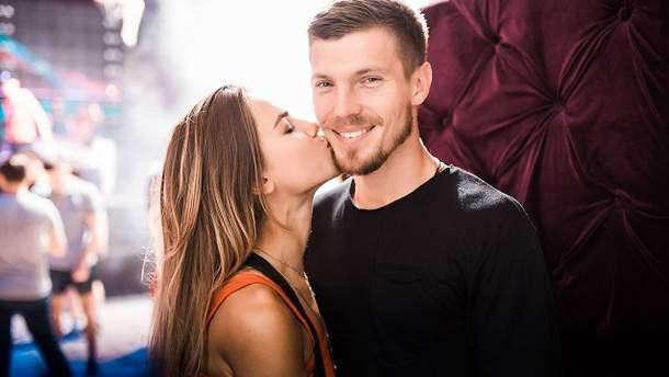 Ігор Кузьменко і його кохана дружина Саша Попова