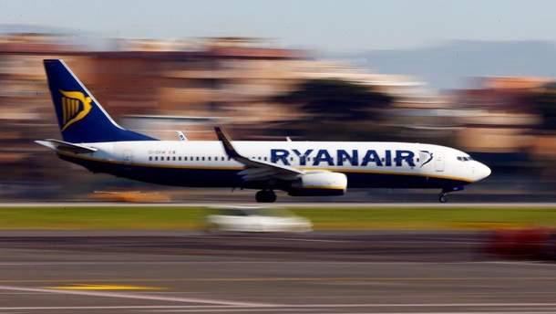 Ryanair вніс зміни у розклад рейсів до Києва