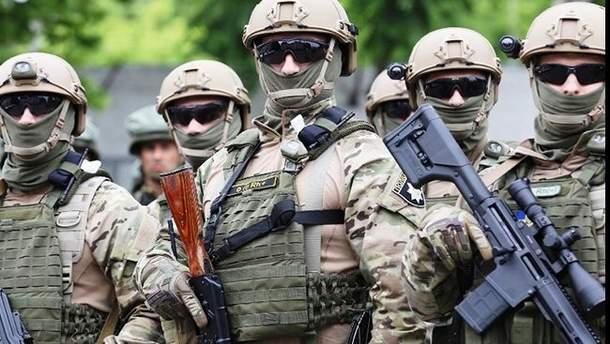 "Спецназовцы провели спецоперацию на рынке ""7 километр"""