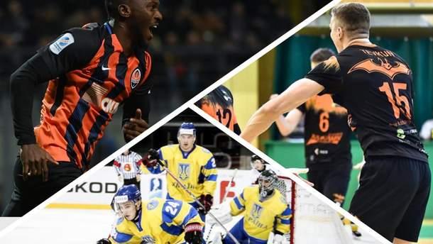 Спортивные итоги недели 23-29 апреля: интрига в УПЛ, хоккейный провал, волейбольный чемпион