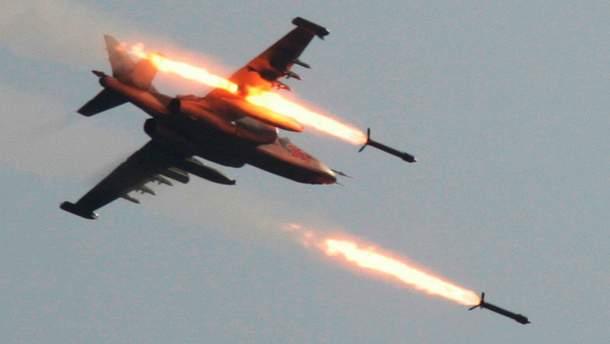 Авіаудари по Сирії