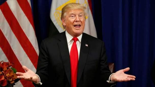 Трамп потрапив у новий кофуз