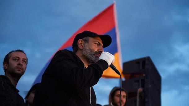 У Вірменії висунуто кандидатуру Пашиняна на посаду прем'єр-міністра