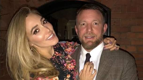 Гай Ричи и его жена Джеки
