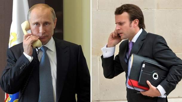 Макрон телефонував до Путіна: говорили про іранську ядерну програму